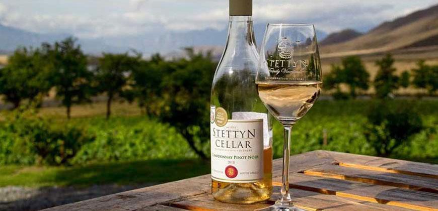 Chardonnay pinot noir 2018 Stettyn Wines
